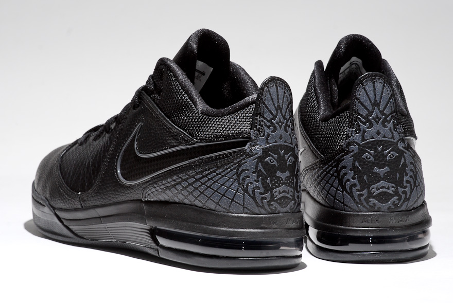Preview of Nike Air Max Ambassador IV in 8220Triple Black8221 Colorway ...