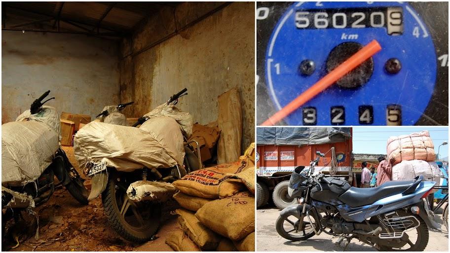 Bikes at Chandigarh Warehouse