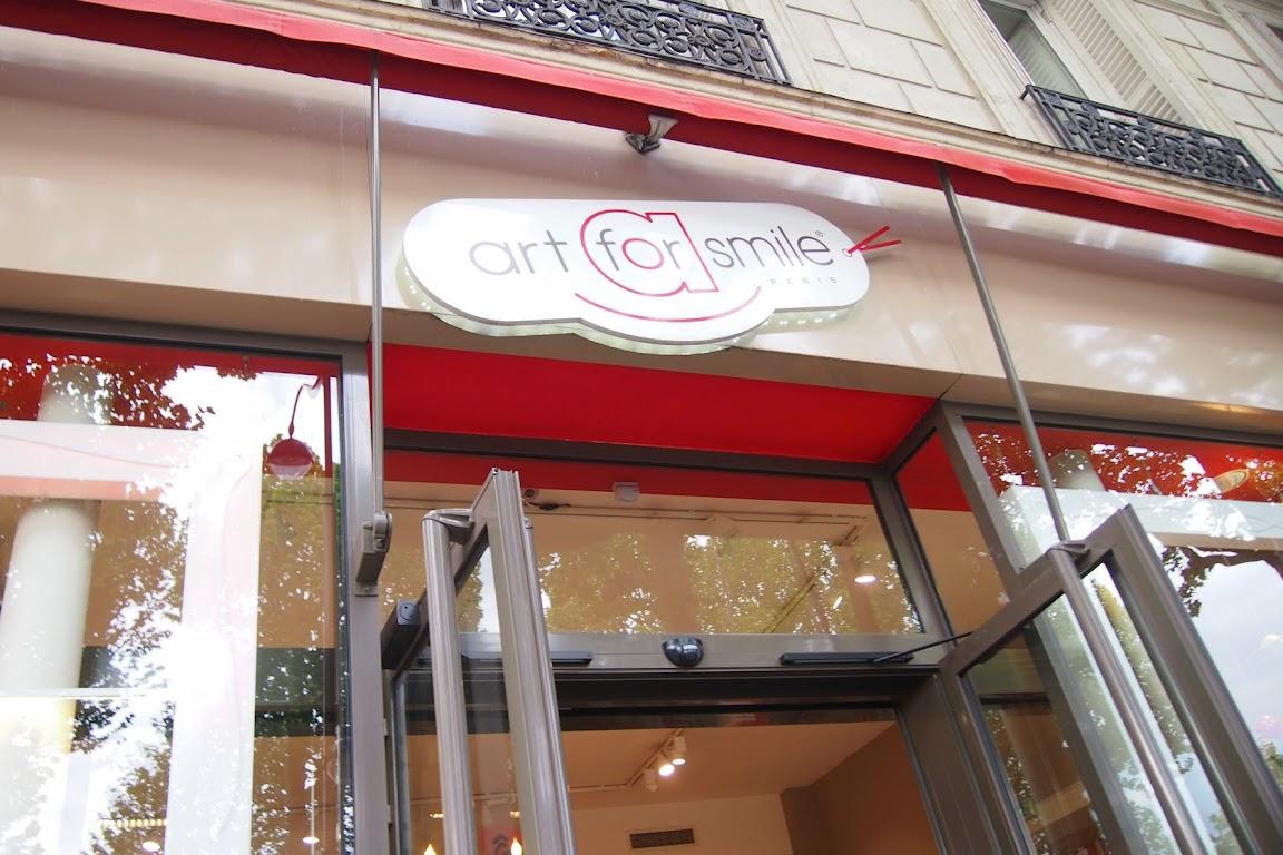 パリで見つけたかわいい雑貨屋 art for smile