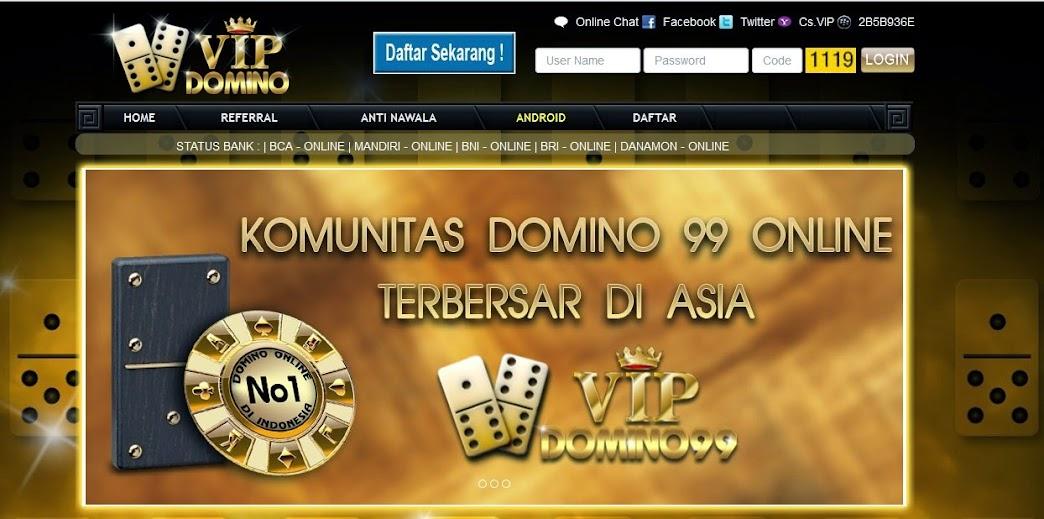 Daftar VIPDomino