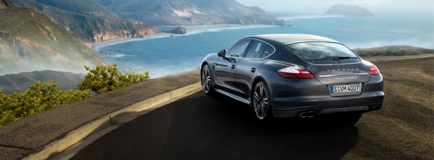 Porche panamera turbo 2013 facebook cover
