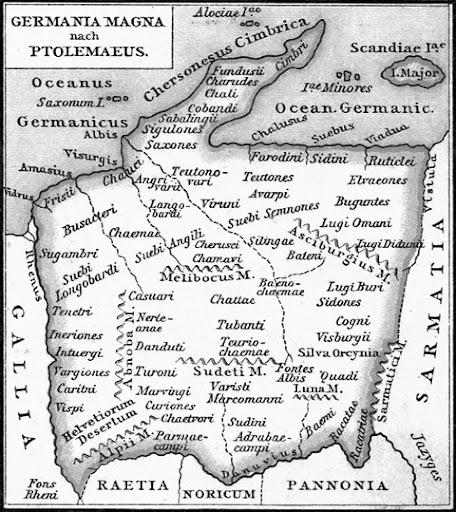 An Ancient Roman Map of Germania