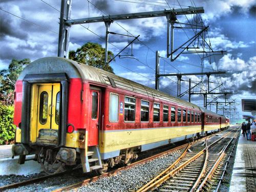 Tren en 3D