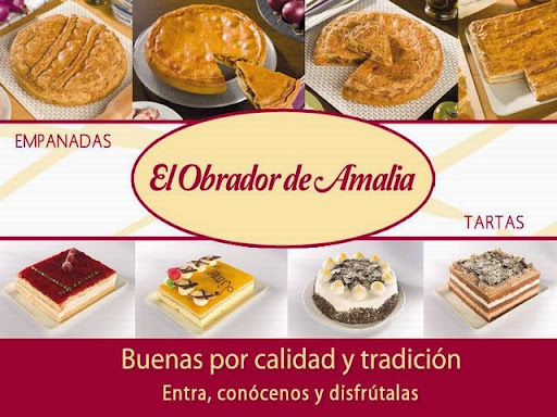 EL OBRADOR DE AMALIA, EMPANADAS Y TARTAS, PASTELERÍA EN GETAFE