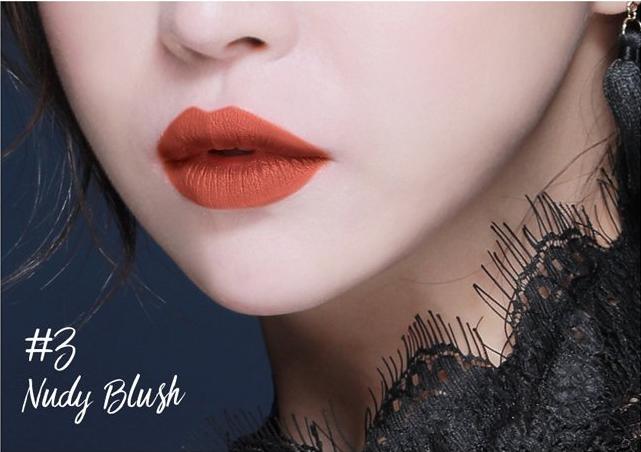 Son Plumeria Color Infusion Matte Lip Nudy Blush