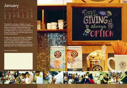 christmas gift ideas, christmas, products, Coffee bean + Tea Leaf 2012 Giving Journal