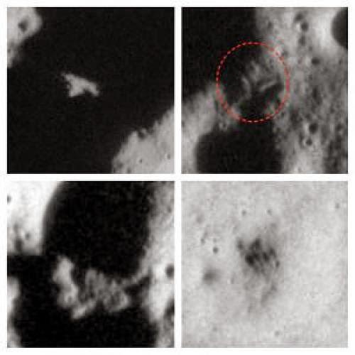 Ufo And Bases Discovered On The Moon Nasa Photos Ufo Sighting News