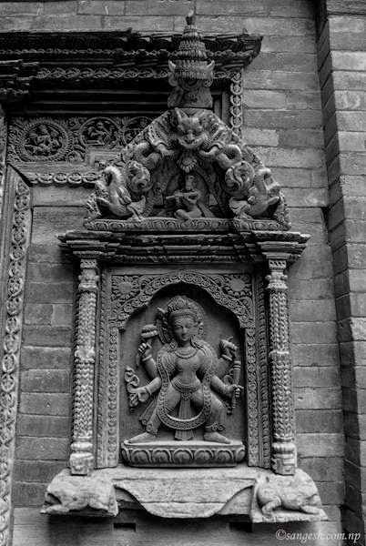 Wood carving at it's best - Patan Durbar