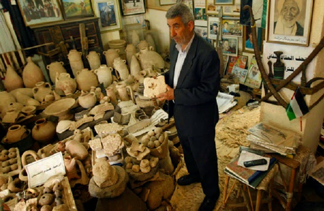 Near East: Antiquities collections victims of Gaza conflict