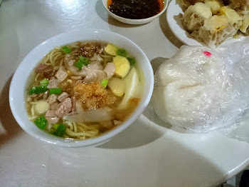 Yummy Siopao with special batchoy
