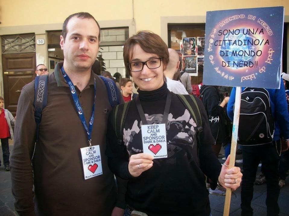 I protagonisti del matrimonio nerd