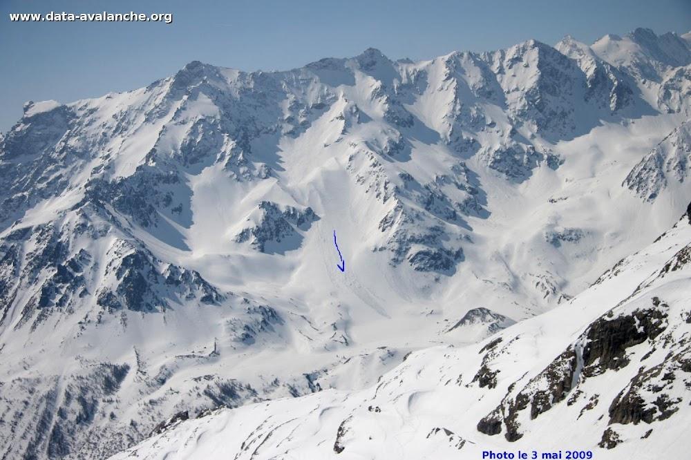 Avalanche Oisans, secteur Col du Lautaret, Pic Est de Combeynot - Photo 1