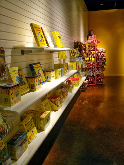 Curious George gift shop at the Fort Worth Museum of Science and History