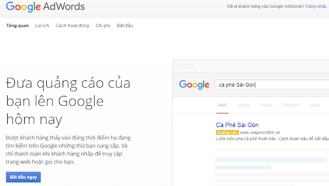 Quảng cáo Google Adwords 01