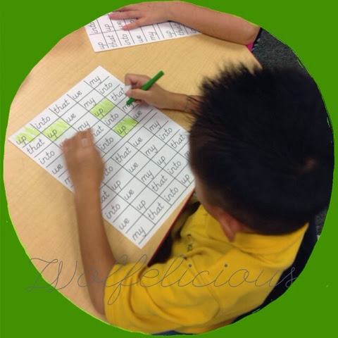 Photo of Sight Words