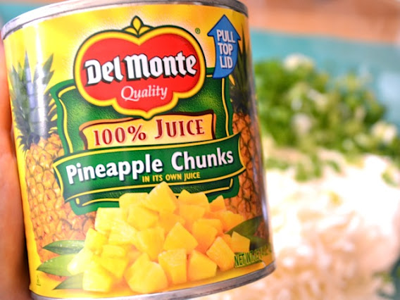 can of pineapple chunks