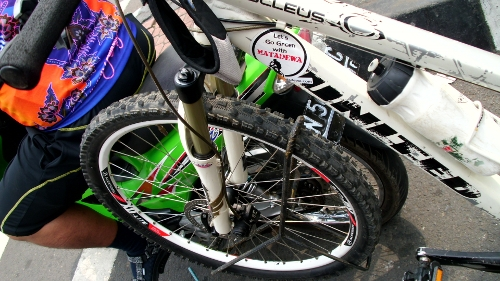 M-Bike Carrier jika dilihat dari dekat
