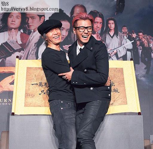 片中戲份不多的羅志祥,亦肯捱義氣,北京、台灣均出席宣傳活動和首映禮。