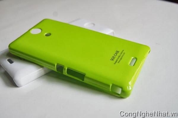 Ốp lưng Sony Xperia ZR (SO-04E) nhựa cứng bóng