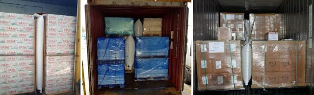 Túi khí đóng hàng container Stopak