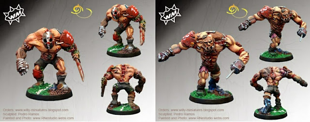 Golems Blood Bowl Willy miniatures