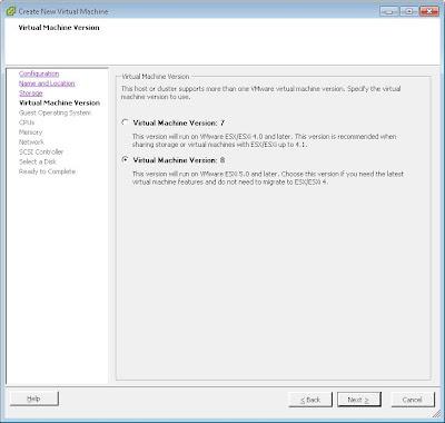Crear una máquina virtual en VMware ESXi desde VMware vSphere Client