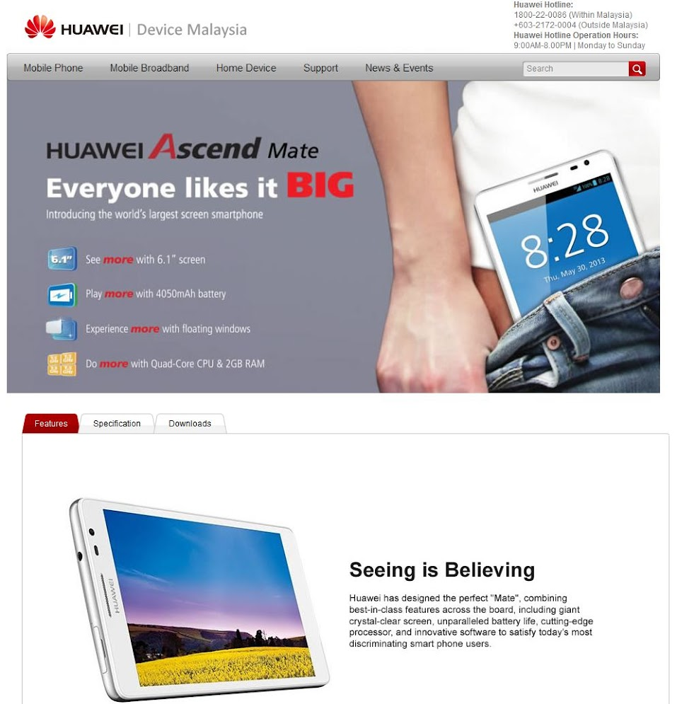 Huawei Ascend Mate - Official Thread