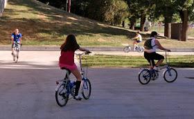 Biciescuela para adultos. Aprende a moverte en bici por Madrid