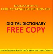Edgie Polistico Cebuano-English Dictionary