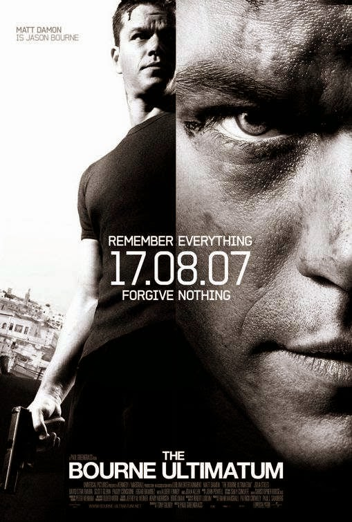 Poster Of The Bourne Ultimatum (2007) Full Movie Hindi Dubbed Free Download Watch Online At alldownloads4u.com