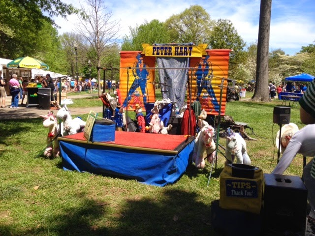 Atlanta dogwood festival the daily april n ava peter hart marionette puppet show georgia top atlanta georgia black mom mommy motherhood blogger