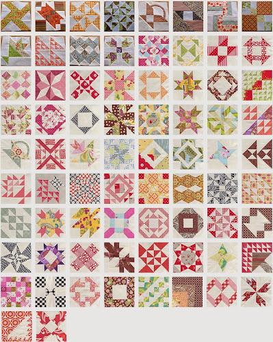 Farmer's wife sampler quilt – blocks 73 to 77 | Sewn Up : the quilt sampler - Adamdwight.com