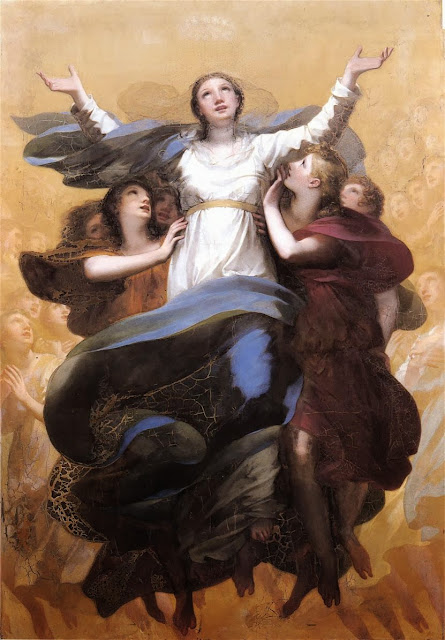 Pierre-Paul Prud'hon - The Assumption of the Virgin