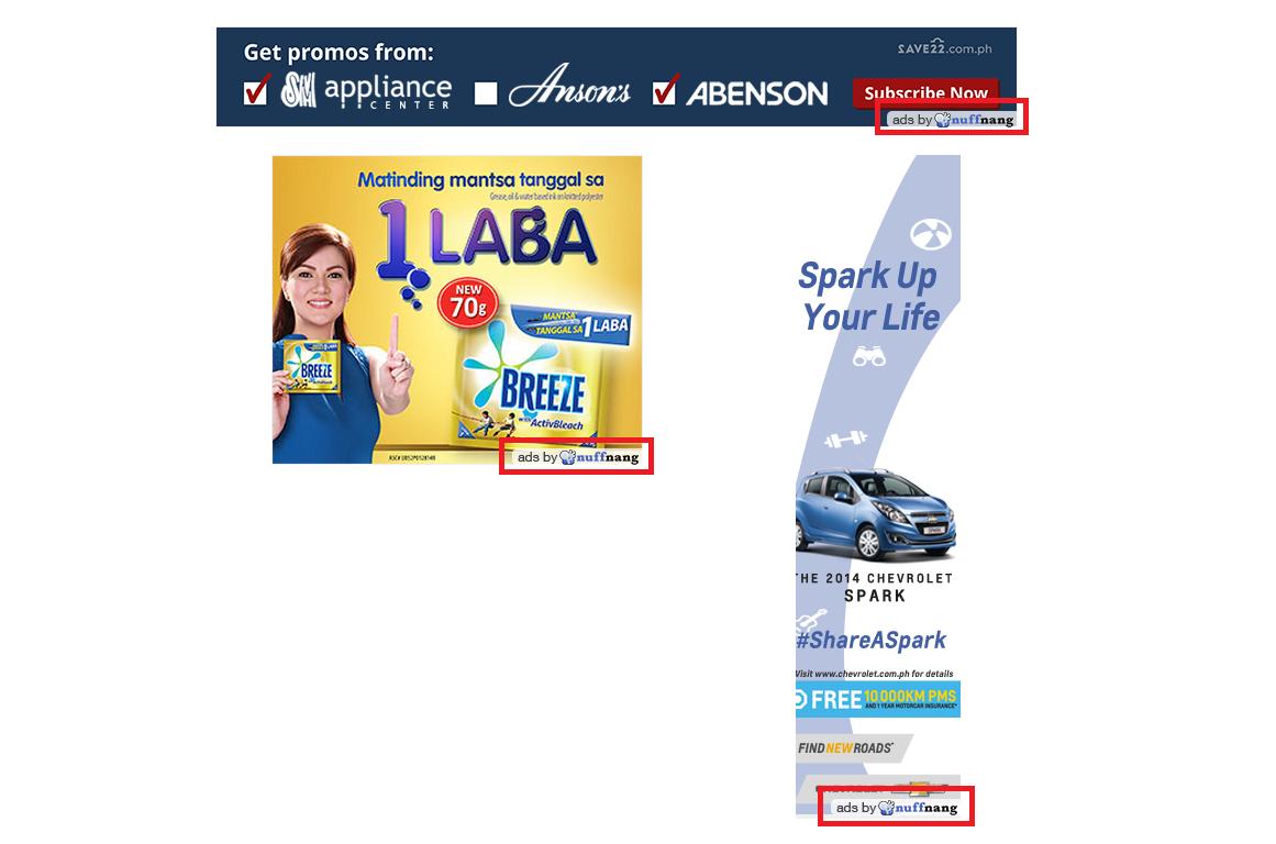 nuffnang logo on ads has new design position