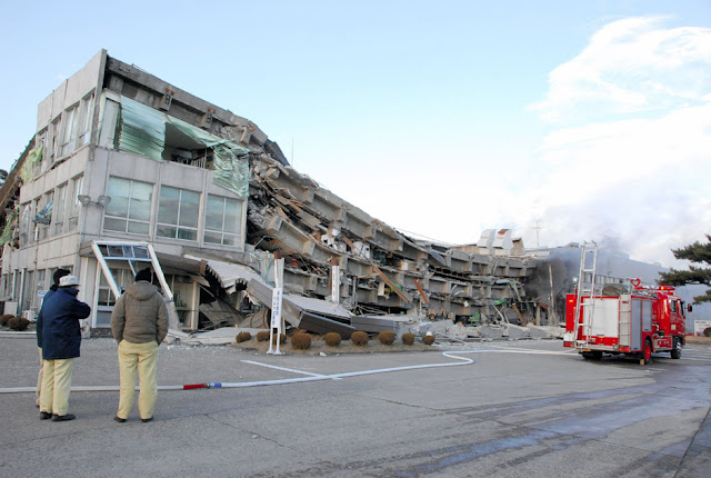 Tsunami Earthquake Japan