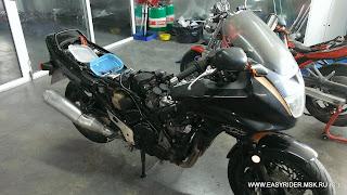 Двигатель Honda CBR1000F Часть 1 полная разборка (фото отчет)