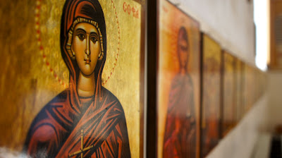 More artwork in the Greek Orthodox Church