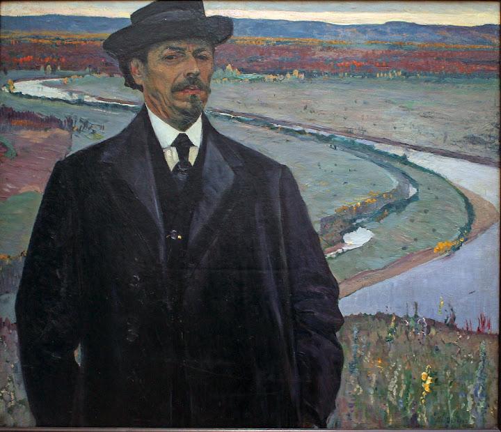 Mikhail Nesterov - Self Portrait (1915)