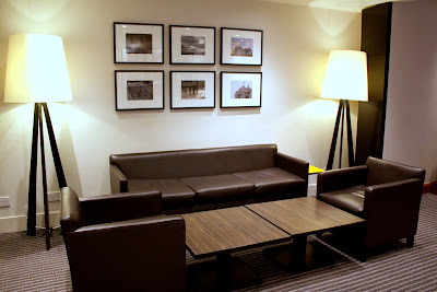 Lobby of the Holiday Inn in Bloomsbury London