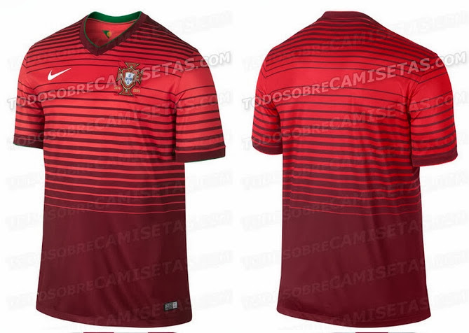 15178ea6364 Portugal 2014 World Cup Home Kit Leaked - Away Kit Details