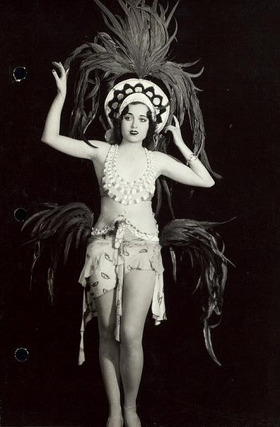 vintage danse plumes