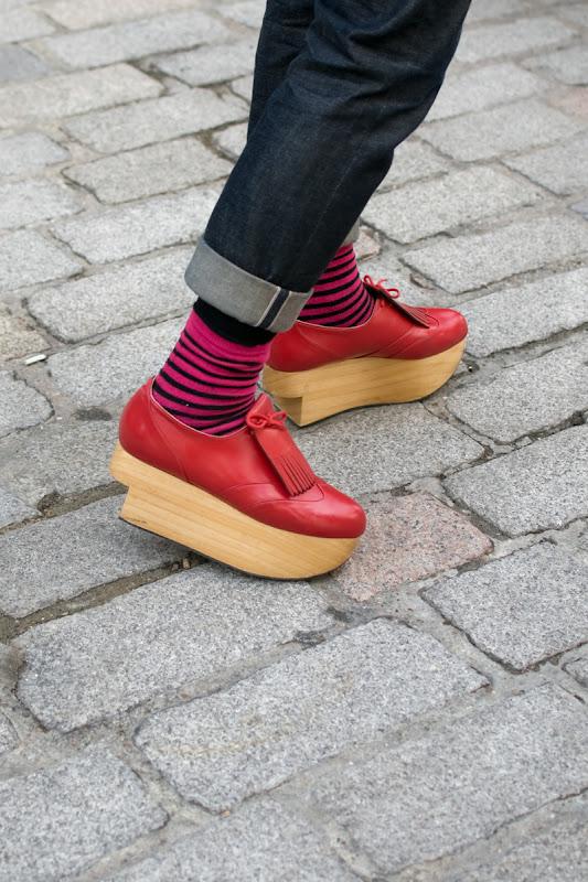 Vivienne Westwood Golf Rocking Horse Shoes