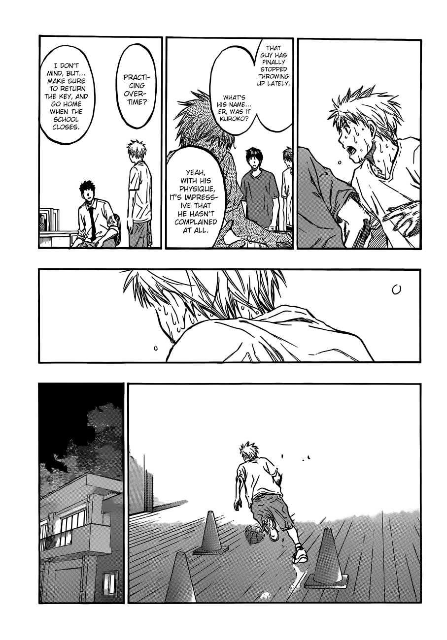 Kuroko no Basket Manga Chapter 205 - Image 07