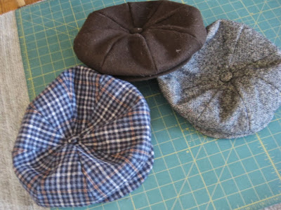 male pattern boldness: DAY 3: The Completed Cap + Newsboy Cap FAQs!