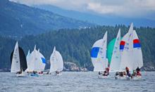 J/24 sailing Vancouver Canada