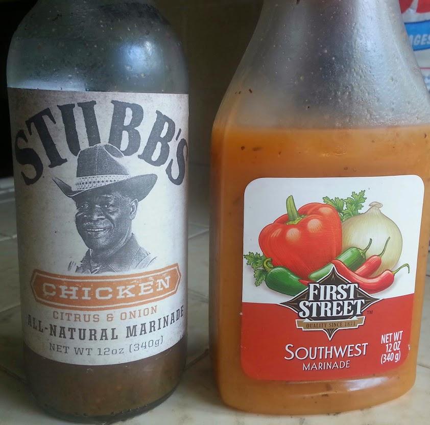 Stubbs Chicken Marinade vs. First Street Southwest Marinade