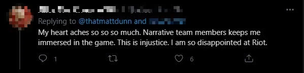 Riot Games outraged fans when they opted to replace Matt Dunn - Ezreal, Pyke's lore author while he was suffering personal difficulties 8
