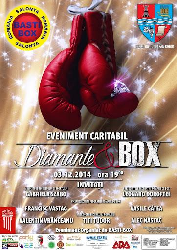 Evenimentul caritabil Diamante şi Box, decembrie 2014 #1