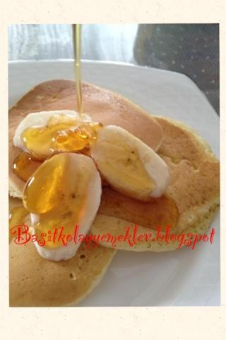 Kolay pancake tarifi