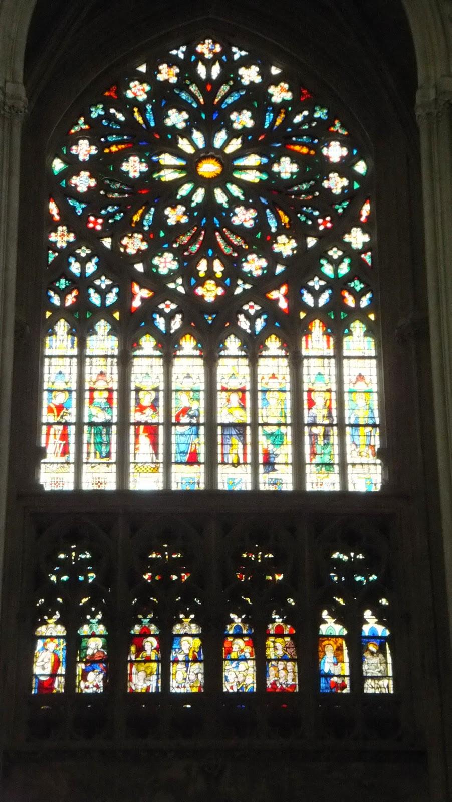 Vitrales, Vitraux, Saint Gatien de Tours, Tours, Francia, Elisa N, Blog de Viajes, Lifestyle, Travel